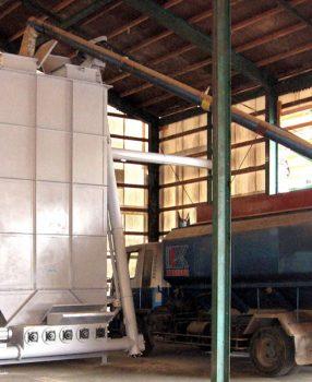 貯蔵タンク式配合機 ノンブリッジバラタンク
